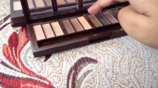 getlinkyoutube.com-Swatches - City Color Barely Exposed and Urban Decay Naked palettes