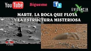 getlinkyoutube.com-Roca Que Flota En Marte Y La Estructura Misteriosa