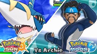 getlinkyoutube.com-Pokémon Champion Title Challenge 33: Archie (Game Edited)