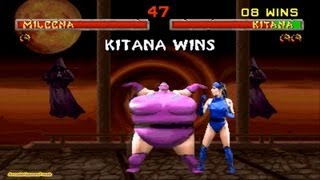 getlinkyoutube.com-Mortal Kombat 2 Kitana Gameplay Playthrough