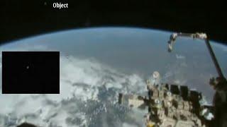 getlinkyoutube.com-NASA Releases!Ufo BIG Bright glowing object live feed ufo LEAVING EARTH 2016