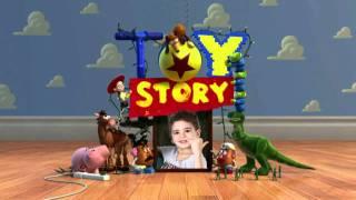 Abertura de aniversário infantil Toy Story