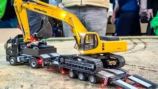 getlinkyoutube.com-Stunning RC excavator in 1:32 scale at Hof Mohr! Amazing digger!