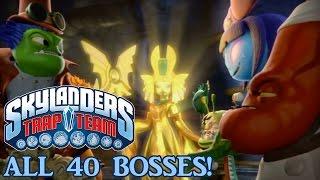 getlinkyoutube.com-Skylanders Trap Team - ALL 40 BOSSES! (No Commentary)