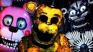 getlinkyoutube.com-GOLDEN FREDDY CHALLENGE!   Five Nights at Freddys Sister Location CUSTOM NIGHT!