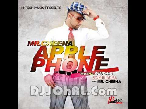 jazzy b da chella mr.cheena latest song apple phone 6 mtv