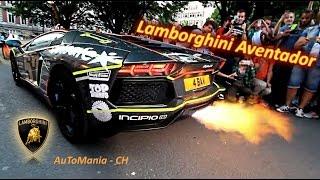 getlinkyoutube.com-Ultimate Lamborghini Aventador - SV & LP700 4, Exhaust sound, Shooting Flames & PURE Sound!!