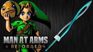 getlinkyoutube.com-Link's Fierce Deity Sword (Legend of Zelda: Majora's Mask) - MAN AT ARMS: REFORGED