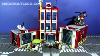 getlinkyoutube.com-LEGO CITY FIRE STATION 60110