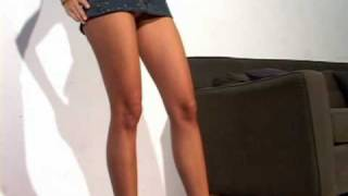 getlinkyoutube.com-Elizabeth Explains MiniSkirt Lengths by Wearing The Shortest One She Can!