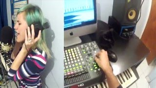 getlinkyoutube.com-Deadmau5 - Strobe LIVE ACT  ( KONGUS feat Alissa Maria Ableton + APC40 + MIDIFIGTHER )