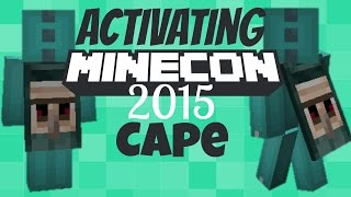 getlinkyoutube.com-How I Redeemed My 2015 Minecon Cape (official way) | Getting My Cape