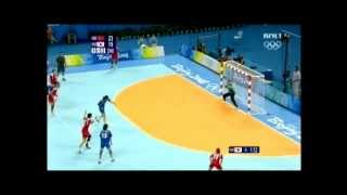 getlinkyoutube.com-OG 2008, handball semifinal. South Korea - Norway 2. half