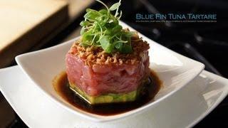 getlinkyoutube.com-Bluefin Tuna Tartare Appetizer - Bruno Albouze - THE REAL DEAL