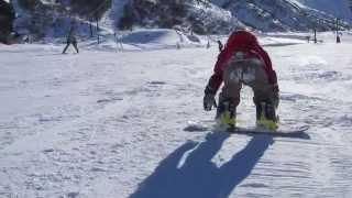 getlinkyoutube.com-Baby Snowboarder Emile 3years old