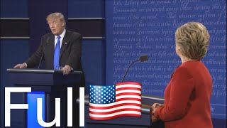 getlinkyoutube.com-Presidential Debate 9/26/16 Donald Trump vs Hillary Clinton  (   Full & HD )
