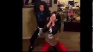 getlinkyoutube.com-2 Girls KILL The #NaeNae to Tony Maxx (Best)