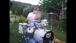 getlinkyoutube.com-Andre - Kasiu Kasieńko - perkusja (drum cover)