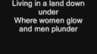 getlinkyoutube.com-Men at Work - Land Down Under (with Lyrics)