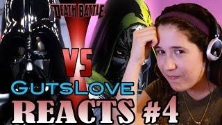 Gutslove REACTS #4 DeathBattle: Vader vs Von Doom