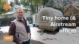 getlinkyoutube.com-Colorado portable tiny house + Airstream-ish portable office