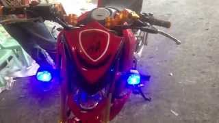getlinkyoutube.com-Honda msx 125 - grom 125  msx grom PGM-fi new LED style