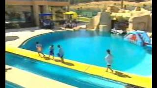 getlinkyoutube.com-Adila Rebib_عديلة ربيب_Water Games_ 4th Part