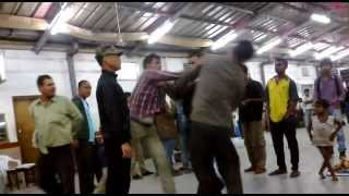 FIGHTING in Railway station