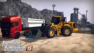 getlinkyoutube.com-Farming Simulator 15 - Volvo L180F (Mining & Construction Economy mod)