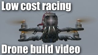 getlinkyoutube.com-Low cost miniquad racing drone build video PART 1