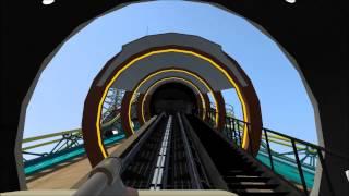 getlinkyoutube.com-[No Limits Coaster 2] Space Mountain DLTALL - OnboardMusic Script Test