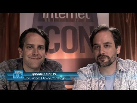 Internet Icon Ep7 - The Judges' Choice Challenge (Part 2 of 2) with David Fickas and Brice Beckham