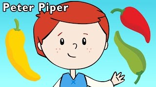 getlinkyoutube.com-P Is for Pepper   Peter Piper and More   Baby Songs from Mother Goose Club!