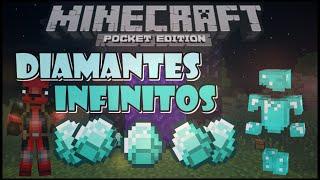 getlinkyoutube.com-Minecraft Pe 0.15.0 | Granja De Diamantes | Como Tener Diamantes Infinitos Sin MODS