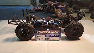 Traxxas Slash 4x4 level 10 Upgrade- Proline Body Mount
