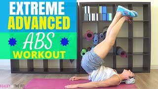 10 Min Extreme Abs Workout w/ Beauty and The Fit - HASfit Extreme Ab Workouts Exercises