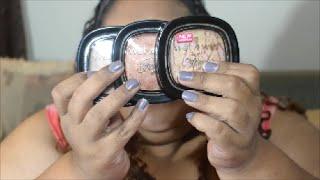 getlinkyoutube.com-Simply Swatches Saturday WOC Brown Skin Affordable Drugstore Highliters