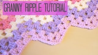 getlinkyoutube.com-CROCHET: Chevron/Granny ripple tutorial | Bella Coco