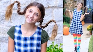 getlinkyoutube.com-Dad Teaches How to Create Pippi Longstocking Braids