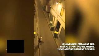 LIVE - Les gens sortent du bataclan à Paris - Attentats (13/11/15)