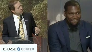 getlinkyoutube.com-Kevin Durant BEGGED to Re-Sign with Warriors by Owner Joe Lacob
