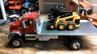 getlinkyoutube.com-Rc construction dozer bruder conversion