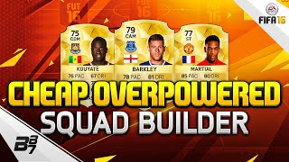 getlinkyoutube.com-FIFA 16 | CHEAP OVERPOWERED BPL SQUAD BUILDER