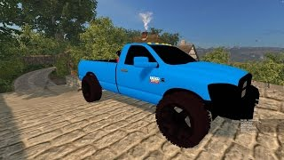 getlinkyoutube.com-Farming Simulator 2015 Mods- Dodge Ram 2500 Cummins Turbo Diesel