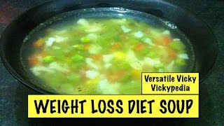 getlinkyoutube.com-Lose Weight Fast with Weight Loss Diet Soup Veg Weight Loss Fat Burning Soup Recipe