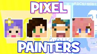 getlinkyoutube.com-Pixel Painters w/ Stacy, Lizzy, and Joey!