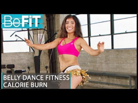 Belly Dance Fitness Calorie Burn Workout: Leilah Isaac