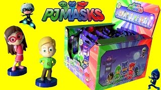 getlinkyoutube.com-PJ MASKS Complete Set MYSTERY BLIND BAGS FULL CASE OPENING with Ultra RARE Connor in PJs Funtoys