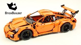 getlinkyoutube.com-Lego Technic 42056 Porsche 911 GT3 RS - Lego Speed build