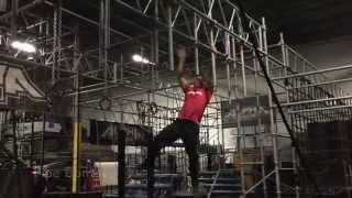 "getlinkyoutube.com-Ninja Warrior Training with ""Mighty Kacy"" Catanzaro and Brent Steffensen"